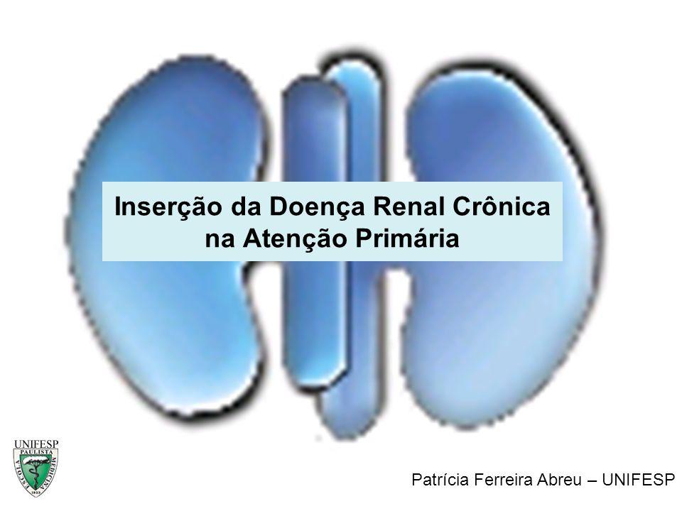 Inserção da Doença Renal Crônica na Atenção Primária