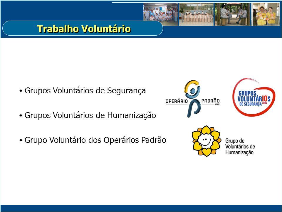 Trabalho Voluntário Grupos Voluntários de Segurança