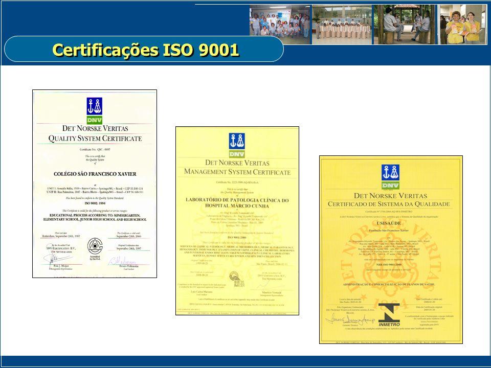 Certificações ISO 9001