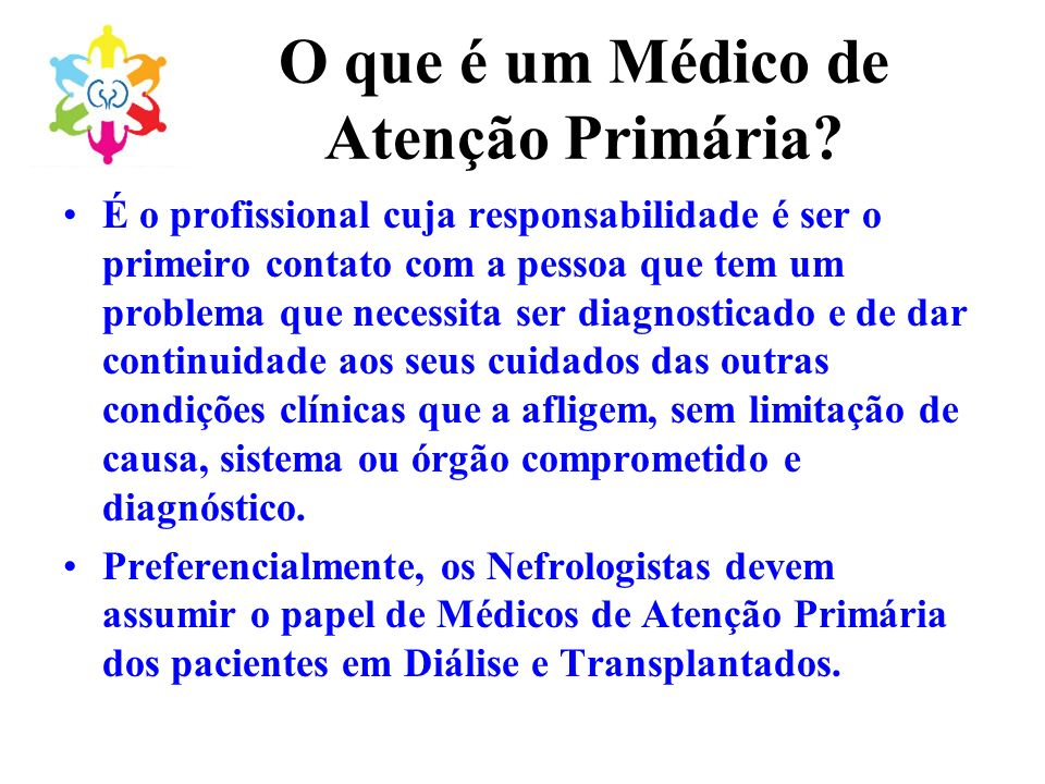 O que é um Médico de Atenção Primária