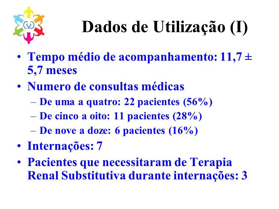 Dados de Utilização (I)