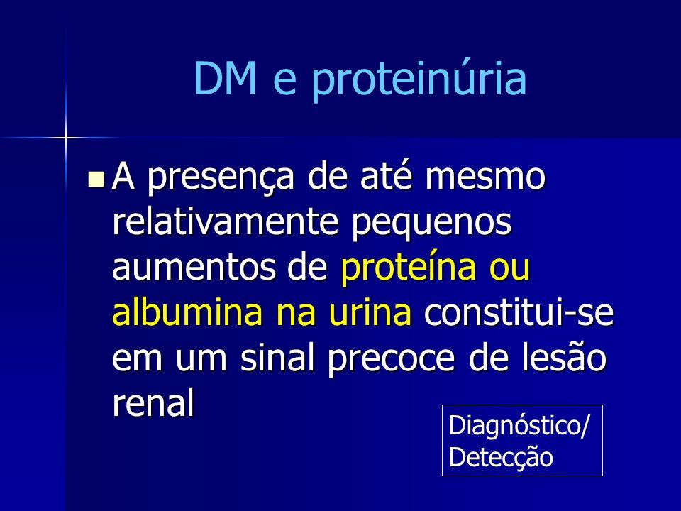 DM e proteinúria