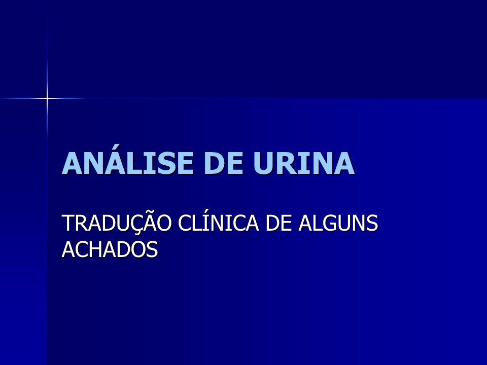 TRADUÇÃO CLÍNICA DE ALGUNS ACHADOS