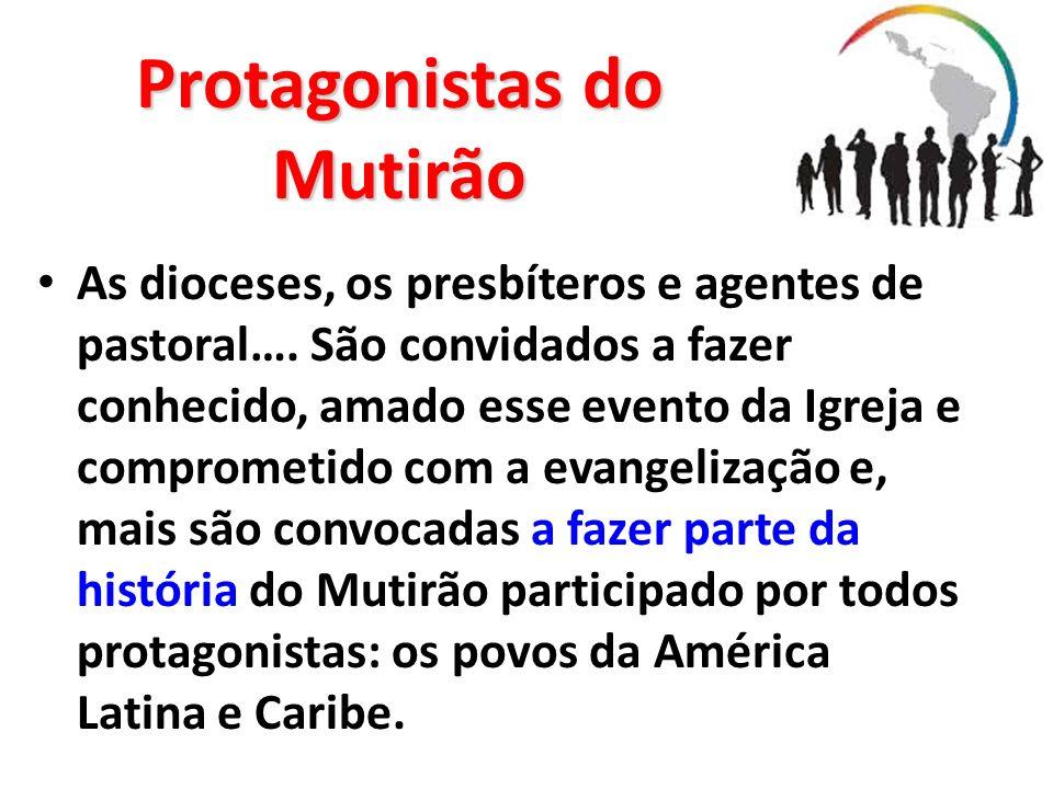 Protagonistas do Mutirão