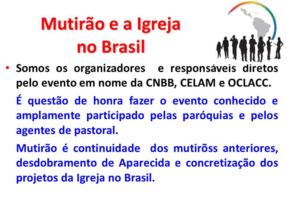 Mutirão e a Igreja no Brasil