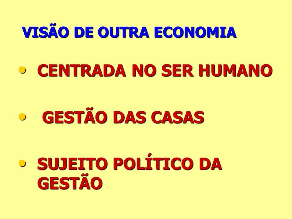VISÃO DE OUTRA ECONOMIA