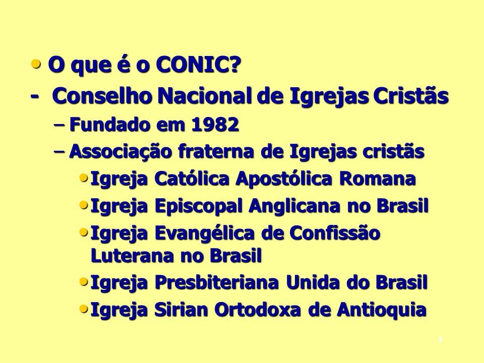 - Conselho Nacional de Igrejas Cristãs