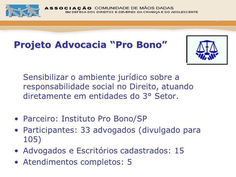 Projeto Advocacia Pro Bono