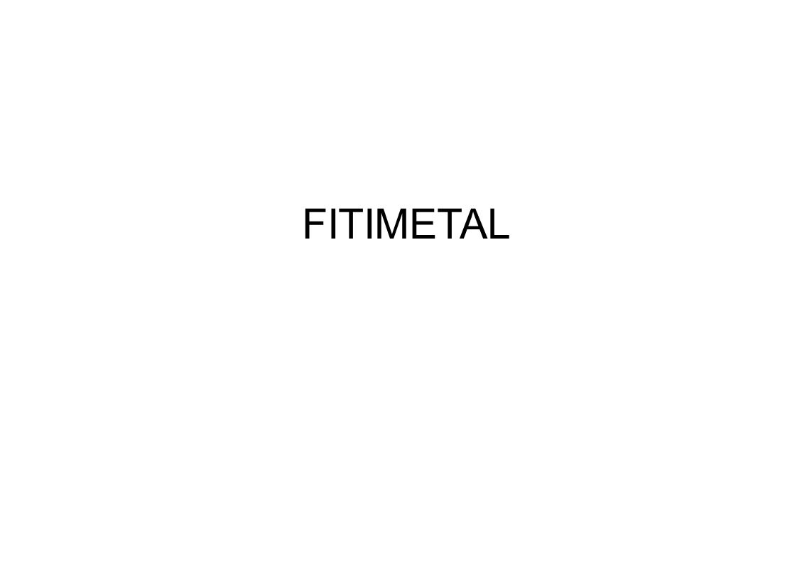 FITIMETAL