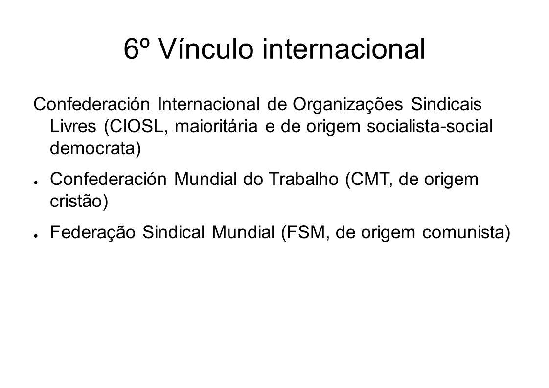 6º Vínculo internacional