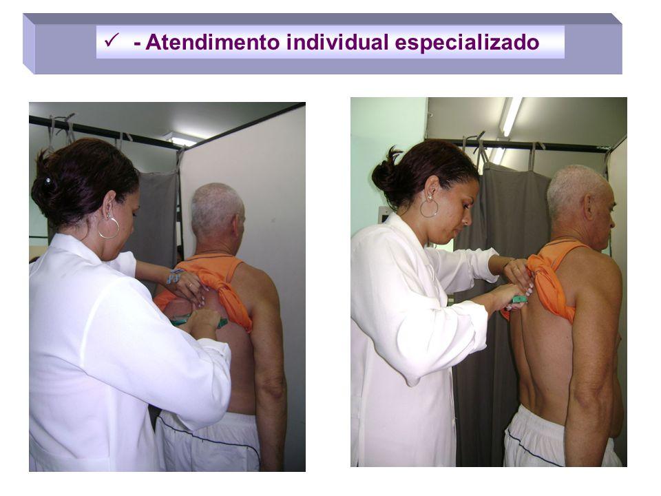  - Atendimento individual especializado