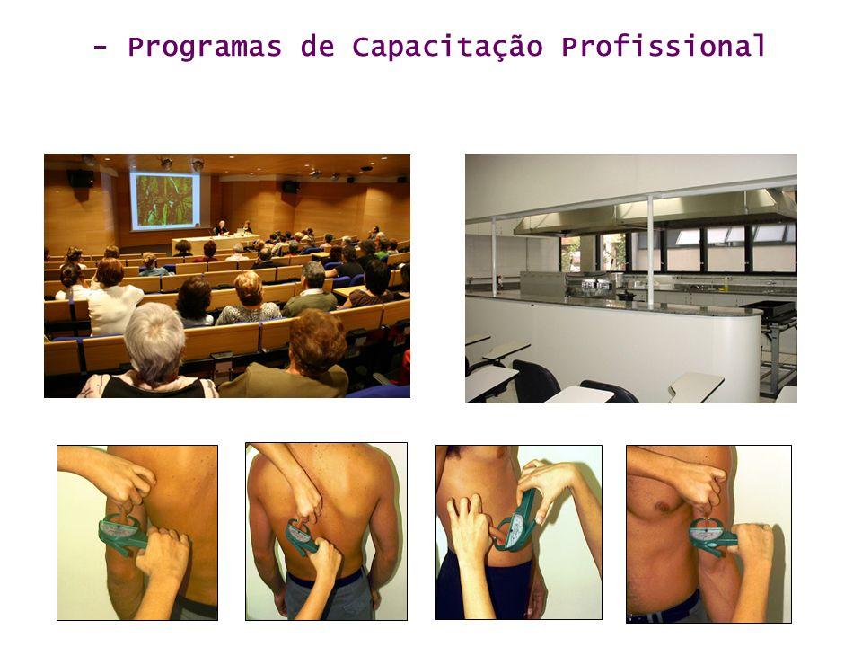- Programas de Capacitação Profissional