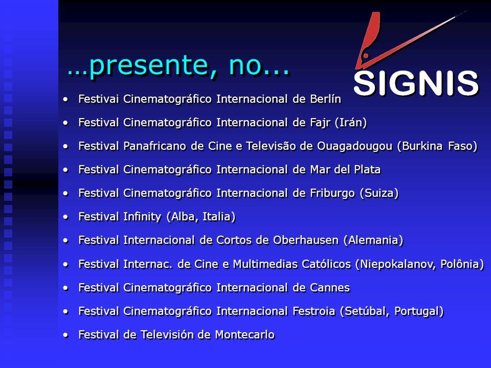 …presente, no... Festivai Cinematográfico Internacional de Berlín