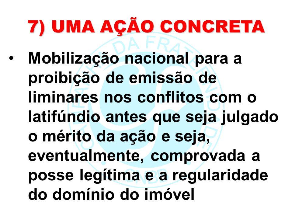 7) UMA AÇÃO CONCRETA