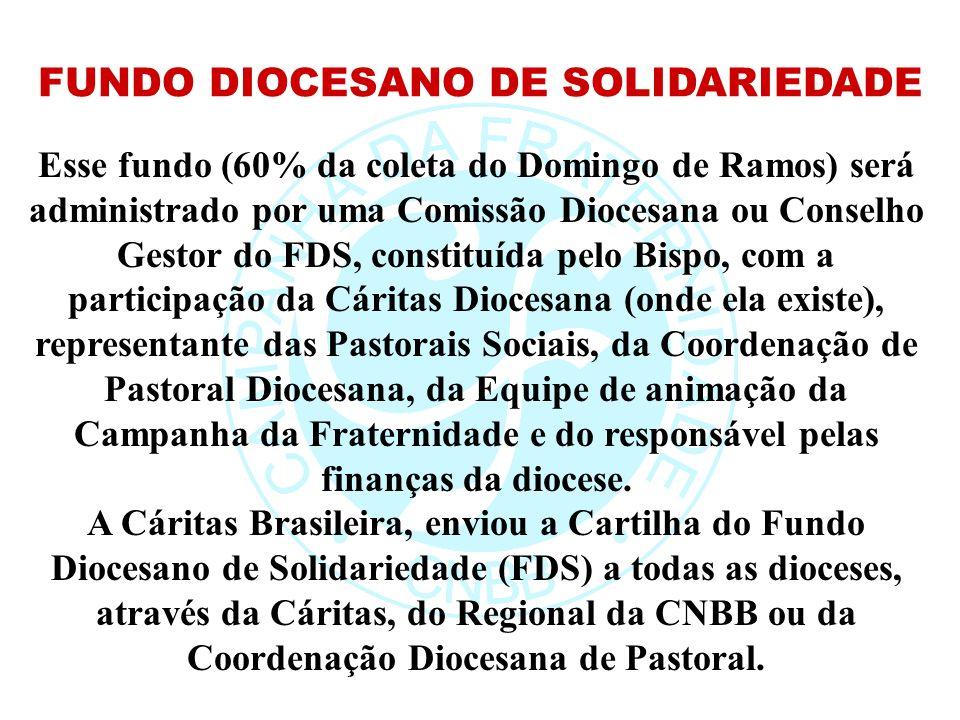 FUNDO DIOCESANO DE SOLIDARIEDADE