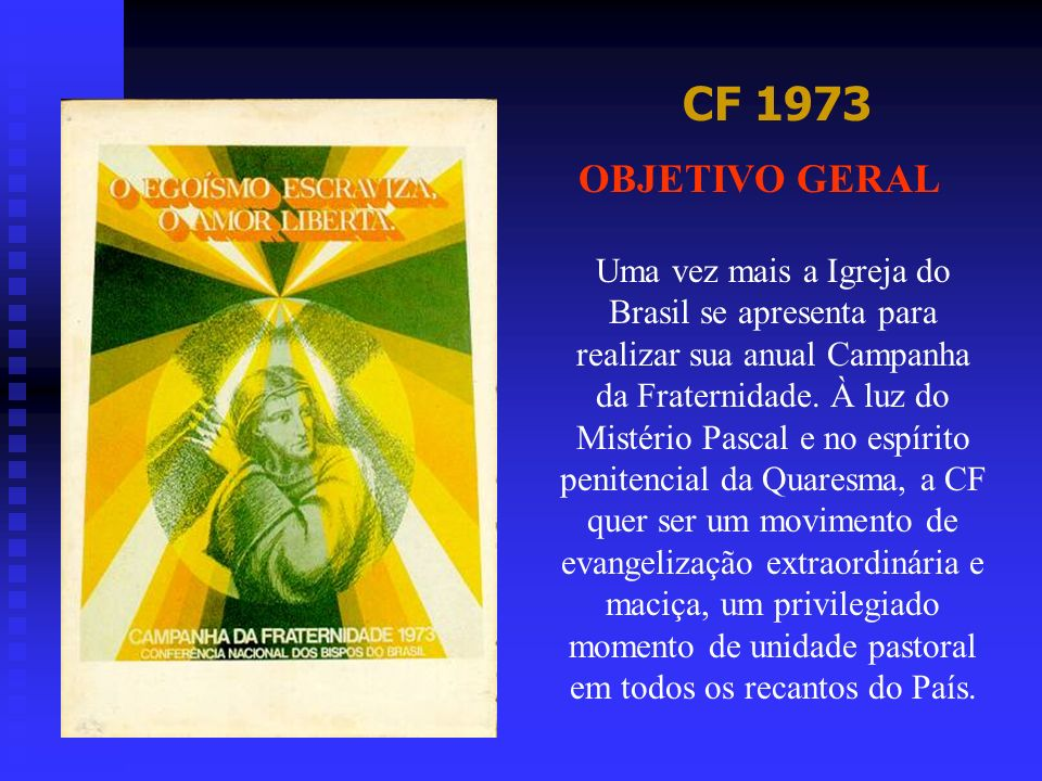 CF 1973 OBJETIVO GERAL.