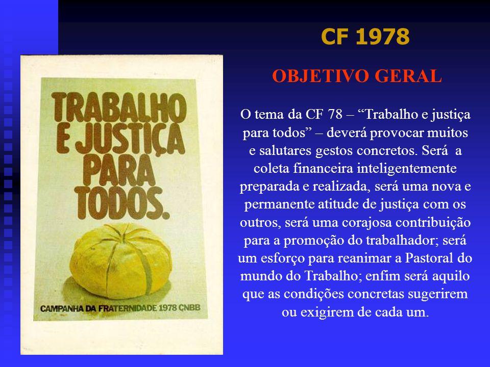 CF 1978 OBJETIVO GERAL.