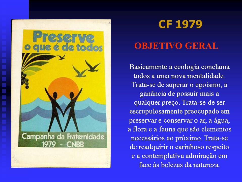 CF 1979 OBJETIVO GERAL.