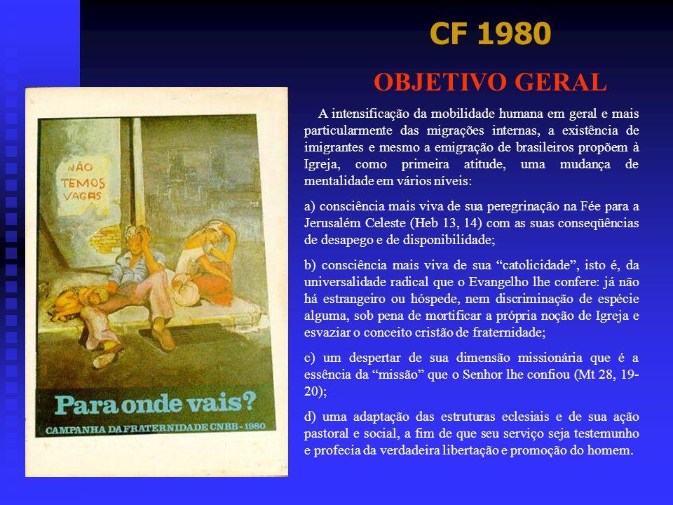 CF 1980 OBJETIVO GERAL.