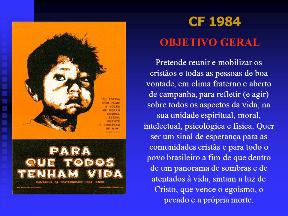 CF 1984 OBJETIVO GERAL.