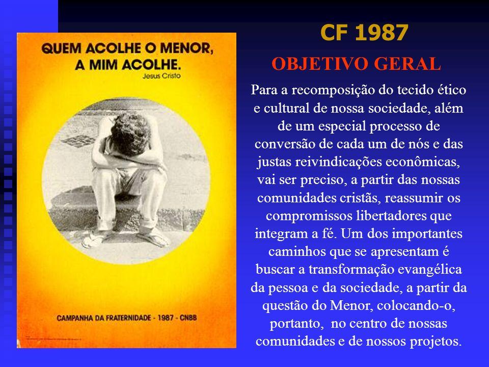 CF 1987 OBJETIVO GERAL.
