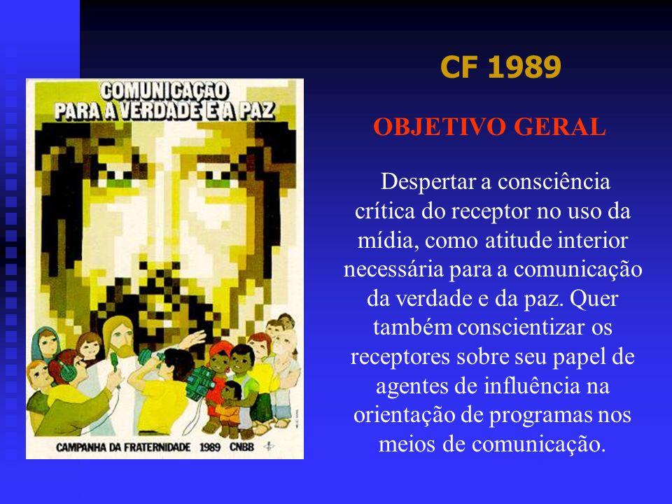 CF 1989 OBJETIVO GERAL.
