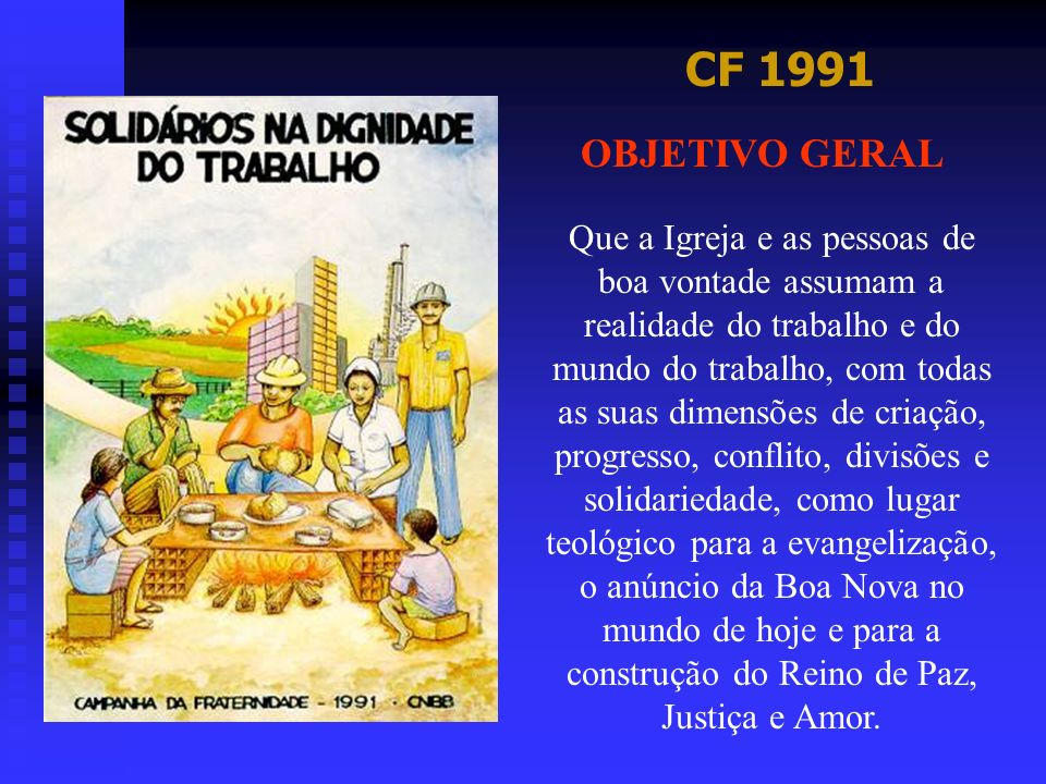 CF 1991 OBJETIVO GERAL.