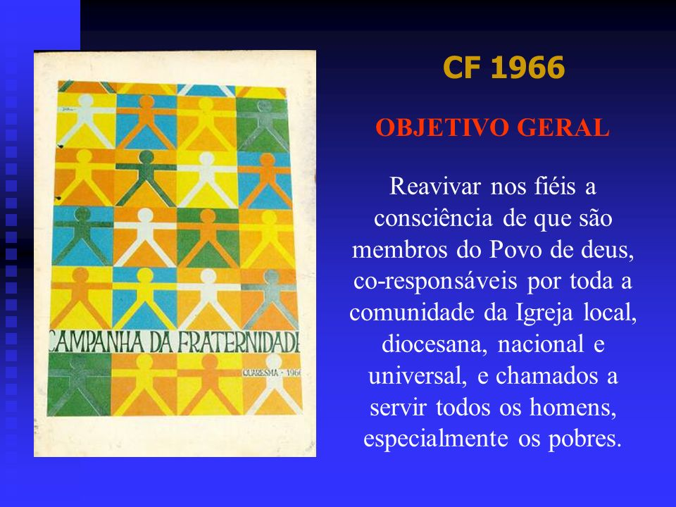 CF 1966 OBJETIVO GERAL.