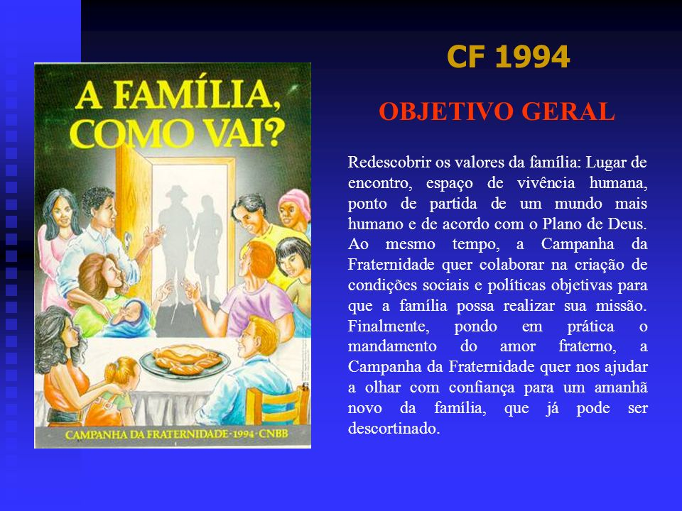 CF 1994 OBJETIVO GERAL.