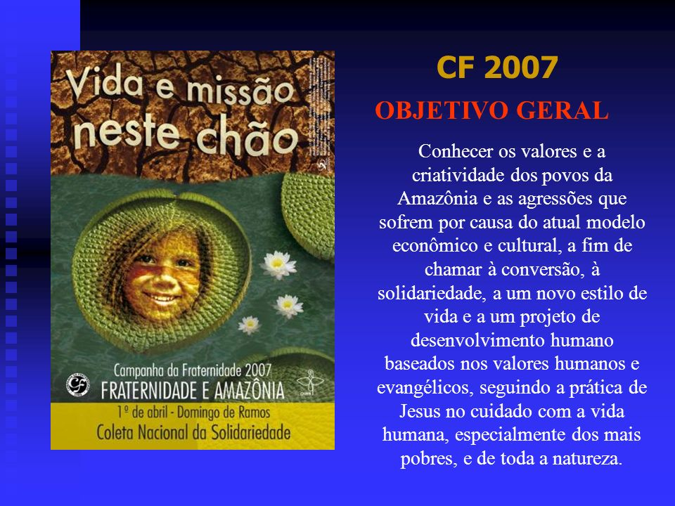 CF 2007 OBJETIVO GERAL.
