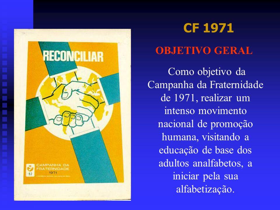 CF 1971 OBJETIVO GERAL.
