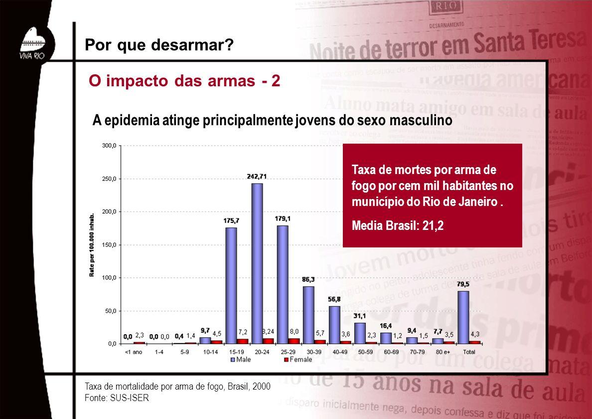 Por que desarmar O impacto das armas - 2