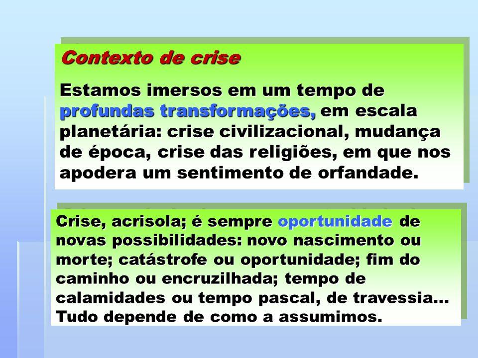Contexto de crise