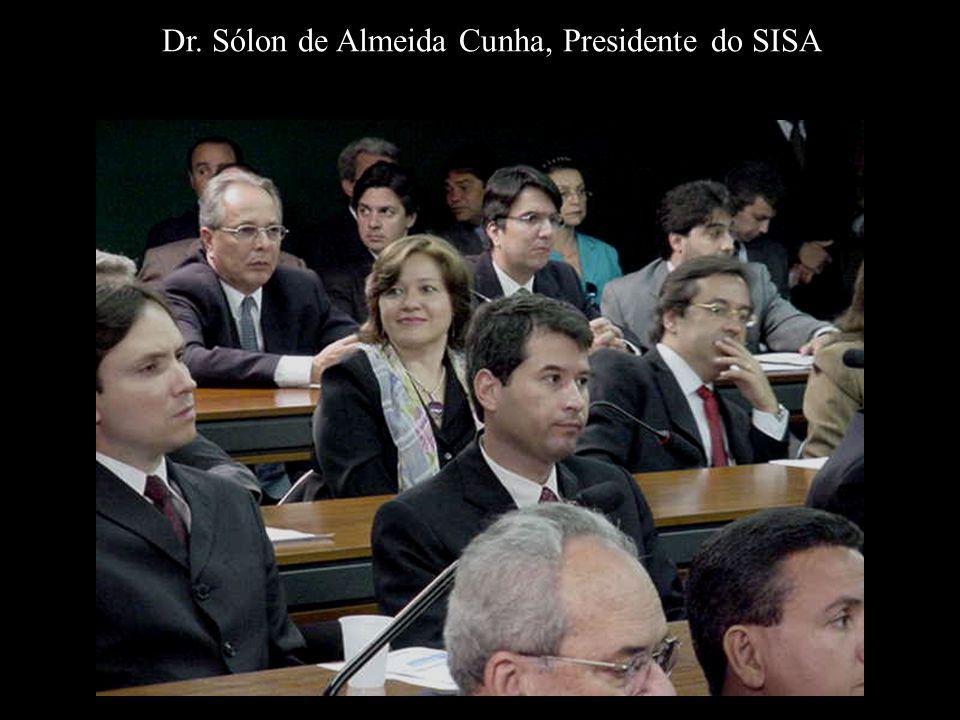 Dr. Sólon de Almeida Cunha, Presidente do SISA