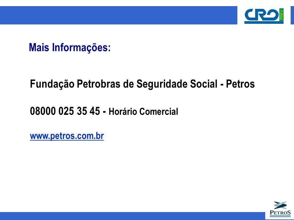 Fundação Petrobras de Seguridade Social - Petros