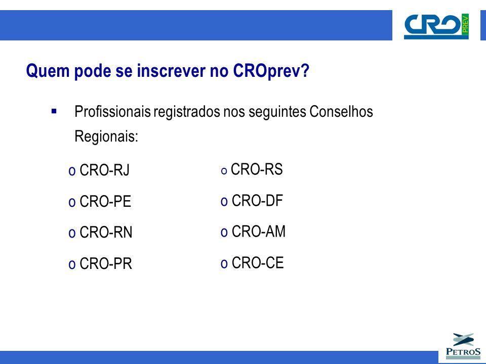 Quem pode se inscrever no CROprev