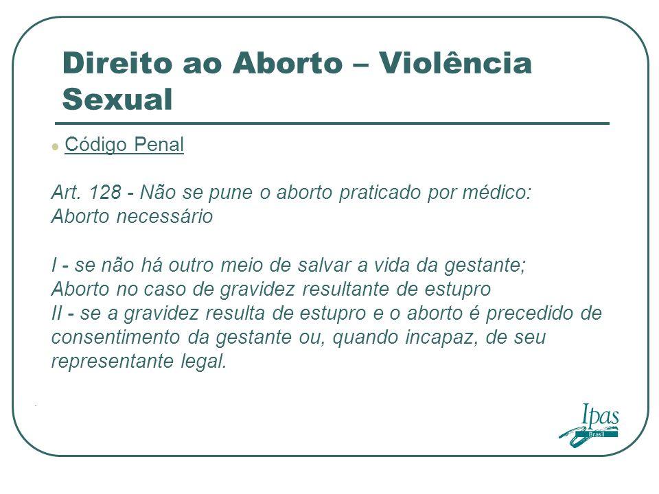 Direito ao Aborto – Violência Sexual