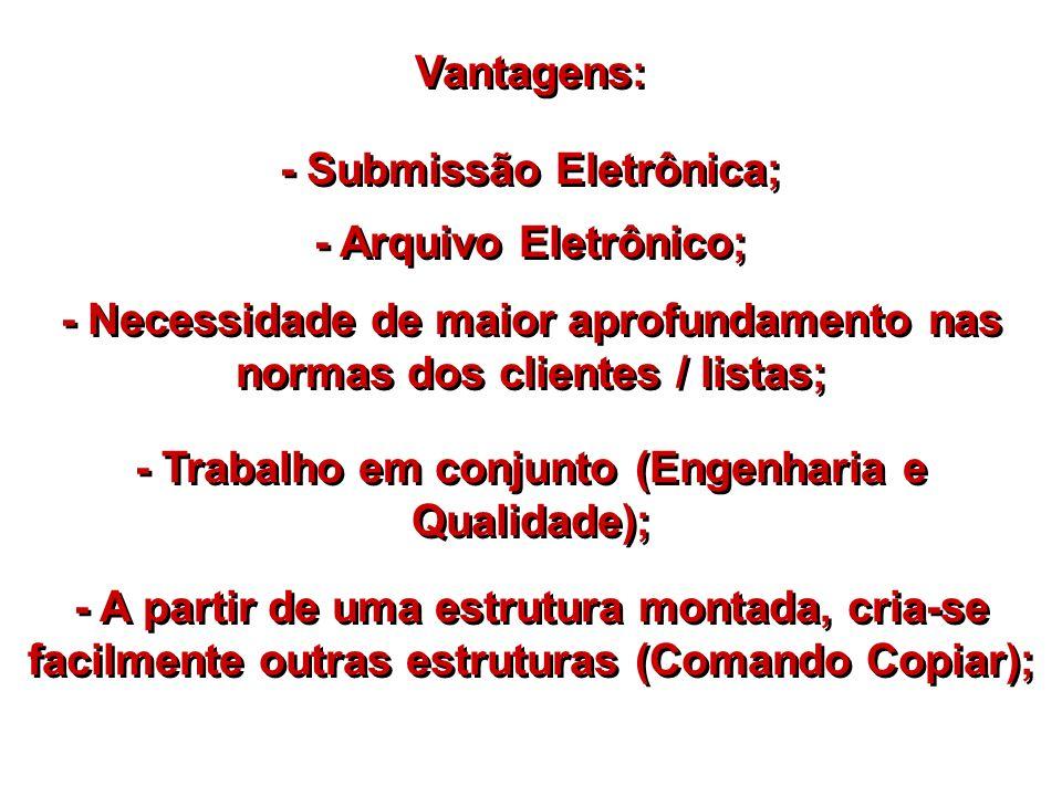 - Submissão Eletrônica;