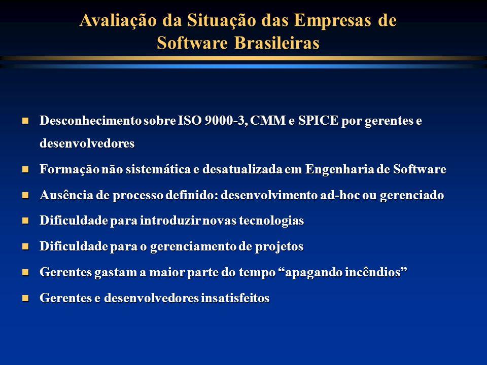 Avaliação da Situação das Empresas de Software Brasileiras