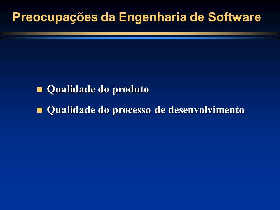 Preocupações da Engenharia de Software