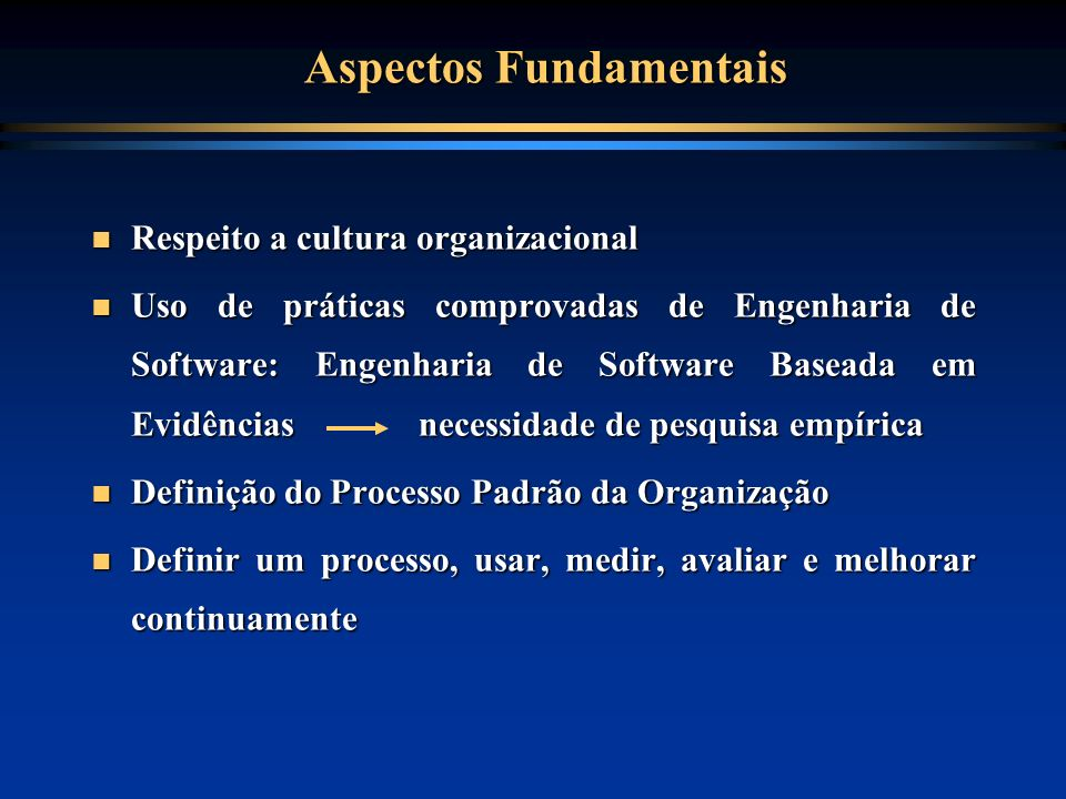 Aspectos Fundamentais