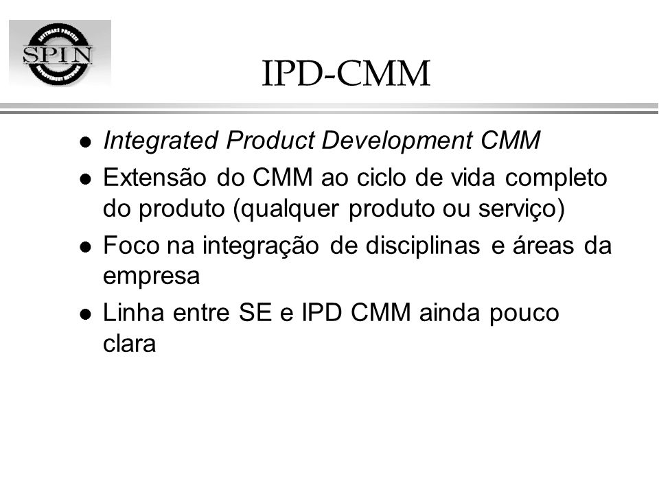 IPD-CMM Integrated Product Development CMM