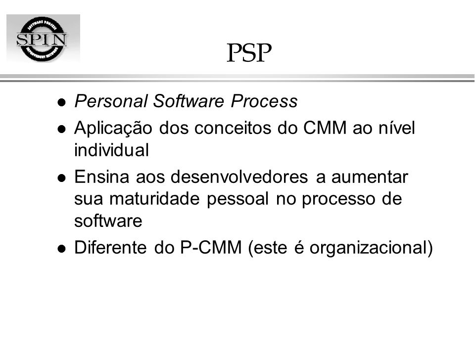 PSP Personal Software Process
