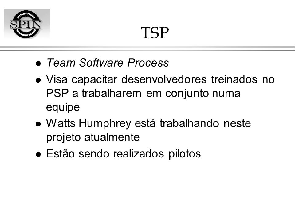 TSP Team Software Process