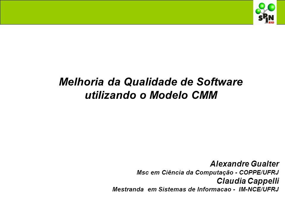 Melhoria da Qualidade de Software utilizando o Modelo CMM