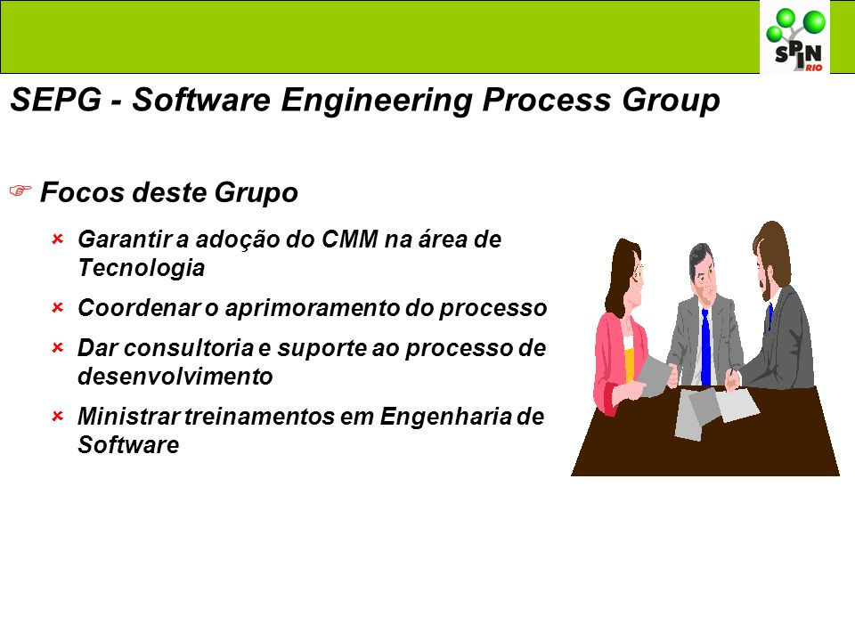 SEPG - Software Engineering Process Group