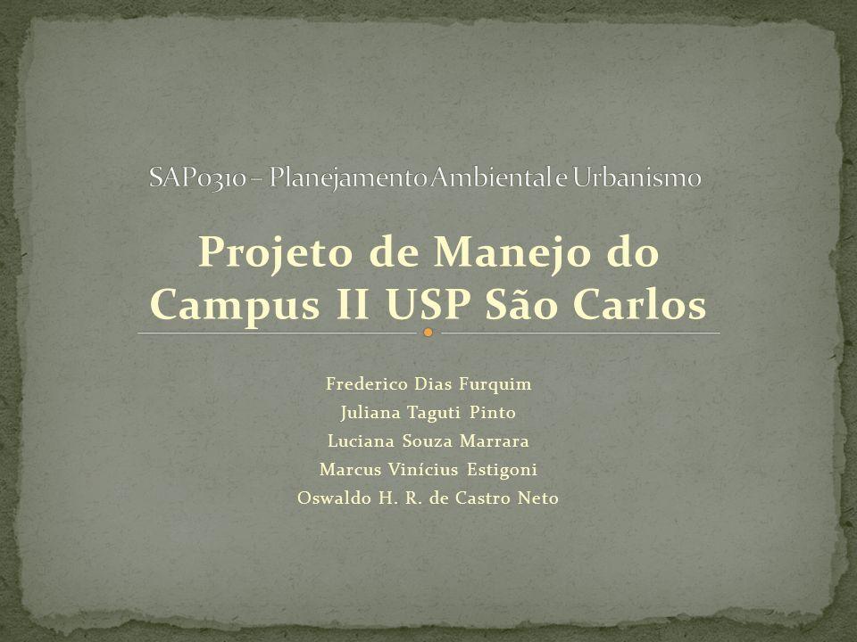 SAP0310 – Planejamento Ambiental e Urbanismo