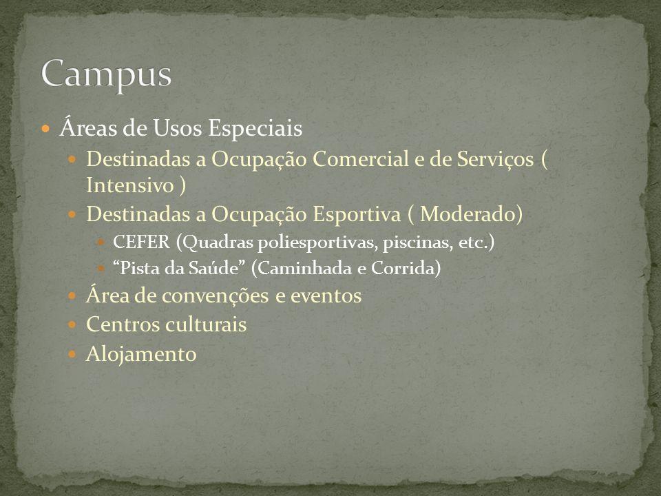 Campus Áreas de Usos Especiais