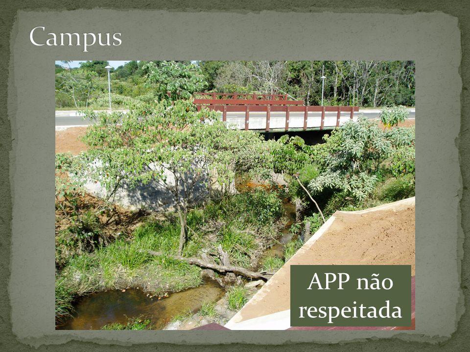 Campus APP não respeitada