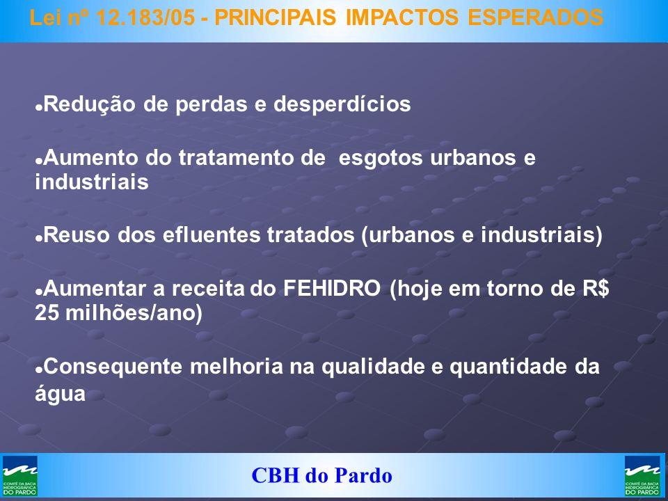 Lei nº 12.183/05 - PRINCIPAIS IMPACTOS ESPERADOS